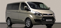 Kayseri Koclar Rent A Car  Diesel Ford Tourneo Custom 8+1 **kar Lastİklİ